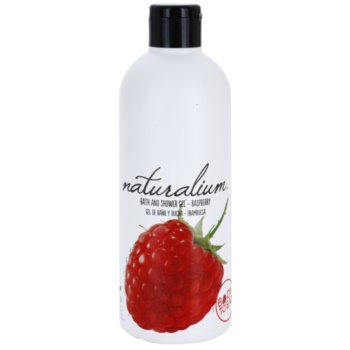 Naturalium Fruit Pleasure Raspberry gel doccia nutriente Raspberry (0% Parabens) 500 ml