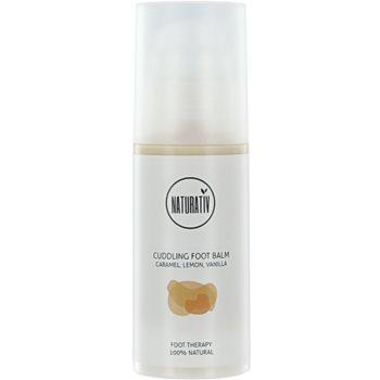 Naturativ Body Care Cuddling crema trattante per i piedi Caramel, Lemon, Vanilla ( Vegan Cosmetic) 100 ml