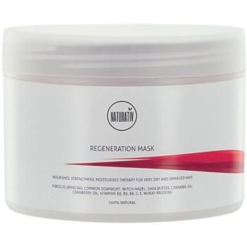 Naturativ Hair Care Regeneration maschera per capelli più forti e luminosi (Natural Ingredients) 250 ml
