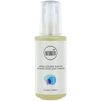 Naturativ Body Care Hypoallergenic olio corpo per massaggi effetto idratante (Vegan Cosmetic) 125 ml
