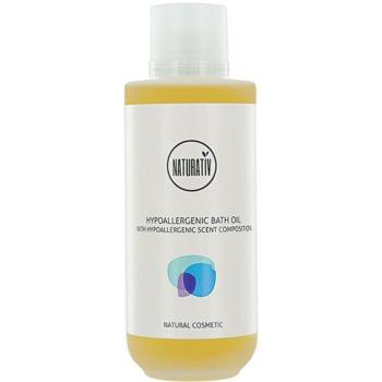 Naturativ Body Care Hypoallergenic olio bagno e doccia effetto idratante (Vegan Cosmetic) 200 ml