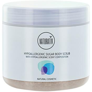 Naturativ Body Care Hypoallergenic scub allo zucchero per il corpo (Vegan Cosmetic) 500 ml