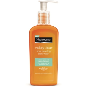 Neutrogena Visibly Clear Spot Proofing gel detergente viso (Oil Free Daily Wash) 200 ml