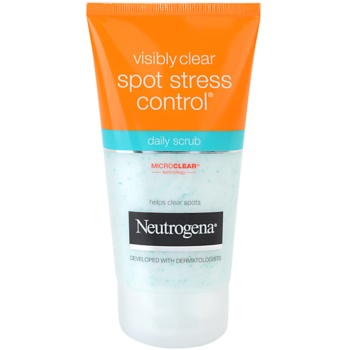 Neutrogena Visibly Clear Spot Stress Control scrub per uso quotidiano (Daily Scrub) 150 ml
