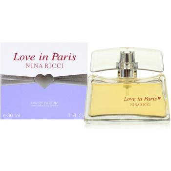 Nina Ricci Love in Paris eau de parfum per donna 30 ml