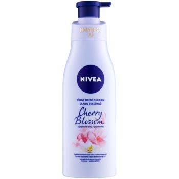 Nivea Cherry Blossom & Jojoba Oil latte corpo con olio 200 ml
