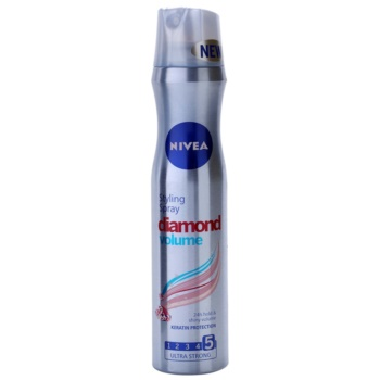 Nivea Diamond Volume lacca per capelli per volume e brillantezza (Styling Spray) 250 ml
