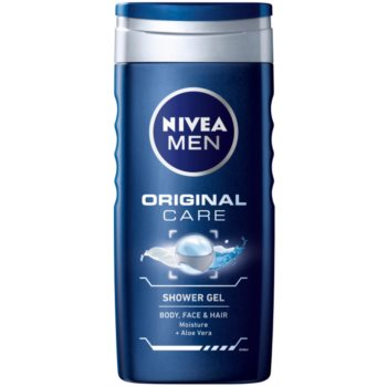 Nivea Men Original Care gel doccia per viso, corpo e capelli (Shower Gel Body Face & Hair) 250 ml