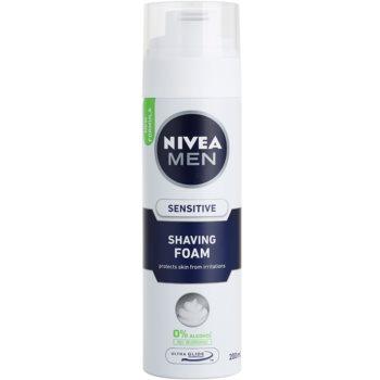 Nivea Men Sensitive schiuma da barba (Shaving Foam) 200 ml