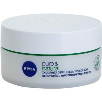 Nivea Visage Pure & Natural crema giorno lenitiva per pelli secche (Soothing Day Cream) 50 ml