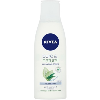 Nivea Visage Pure & Natural lozione detergente viso (Cleansing Toner) 200 ml