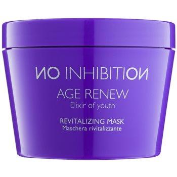 No Inhibition Age Renew maschera rivitalizzante per capelli senza parabeni (Revitalizing Maks with Hyaluronic Acid and Organic Rooibos) 200 ml