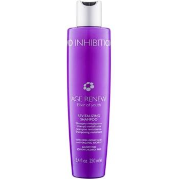 No Inhibition Age Renew shampoo rivitalizzante senza sulfati (Revitalizing Shampoo with Hyaluronic Acid and Organic Rooibos) 250 ml