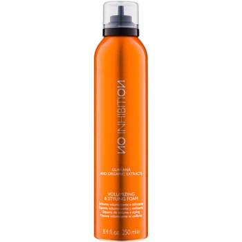 No Inhibition Styling schiuma modellante volumizzante Volumizing & Styling Foam (Guaraná and Organic Extracts) 250 ml