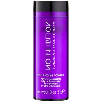 No Inhibition Styling polvere volumizzante opacizzante Volumizing Powder (Guaraná and Organic Extracts) 5 g