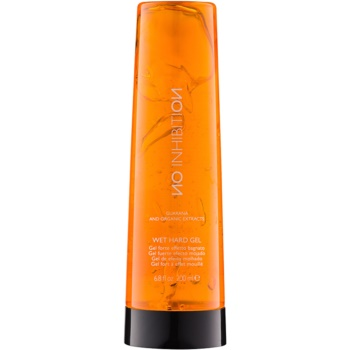 No Inhibition Styling gel effetto bagnato Wet Hard Gel ( Guaraná and Organic Extracts) 200 ml