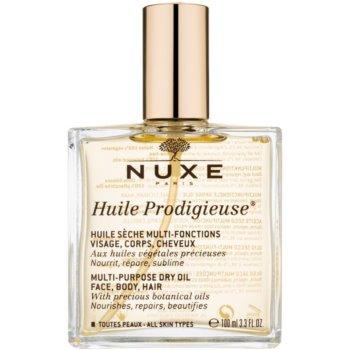 Nuxe Huile Prodigieuse olio secco multifunzione per viso, corpo e capelli (With Precious Botanicals Oils, Mineral Oil Free, Silicone Free) 100 ml