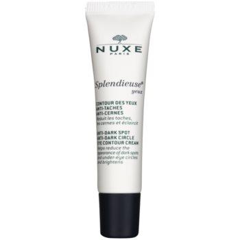 Nuxe Splendieuse crema occhi contro macchie della pelle e occhiaie (With Porcelain Rose, White Crocus and Vitamin C) 15 ml