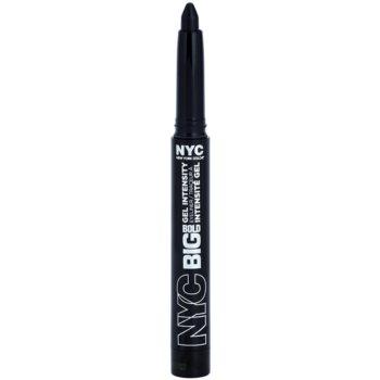 NYC Big Bold Gel Intensity matita occhi colore 001 Leather Black 1,3 g