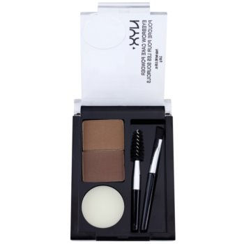 NYX Professional Makeup Eyebrow Cake Powder kit per sopracciglia perfette colore 06 Blonde 2,65 g