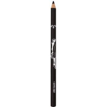 NYX Professional Makeup Long matita per ciglia e sopracciglia colore 01 Black 2 g