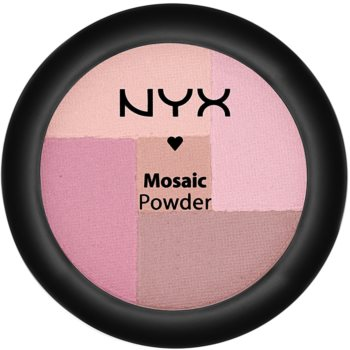 NYX Professional Makeup Mosaic blush in polvere colore 03 Plummy 5,7 g