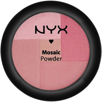 NYX Professional Makeup Mosaic blush in polvere colore 06 Rosey 5,7 g