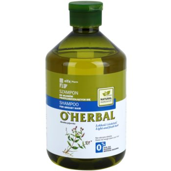 O'Herbal Mentha Piperita shampoo per capelli grassi (Light and Fresh Hair) 500 ml