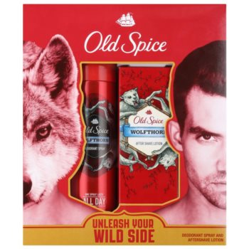 Old Spice Wolfthorn kit regalo II deodorante in spray 125 ml + lozione after-shave 100 ml