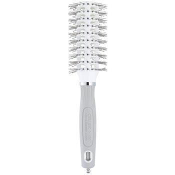 Olivia Garden Ceramic + Ion Turbo Vent Pro spazzola rotonda per capelli Medium (Nylon Bristles Brush Diam: 32 mm)