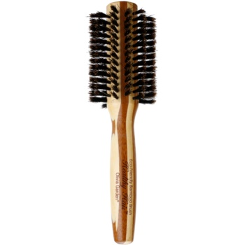 Olivia Garden Healthy Hair 100% Natural Boar Bristles pettine per capelli Styling Brush HH-B30 (Eco-Friendly Bamboo Brush)