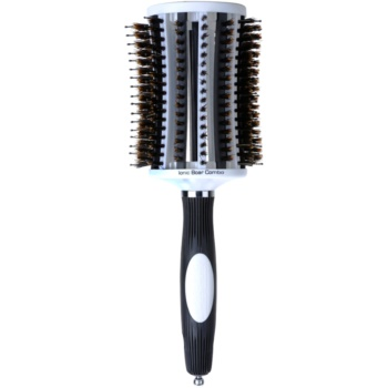 Olivia Garden ThermoActive Ionic Boar Combo spazzola per capelli TA-CO65 (Completely Vented Ionic Boar Combo Thermal Round Brush)