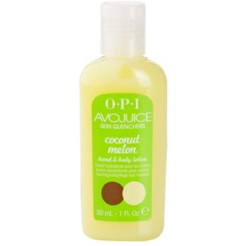 OPI Avojuice latte idratante per mani e corpo Coconut Melon (Hand & Body Lotion) 30 ml
