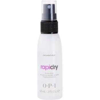 OPI Rapidry spray per un'asciugatura più rapida dello smalto per unghie (Nail Polish Dryer) 60 ml