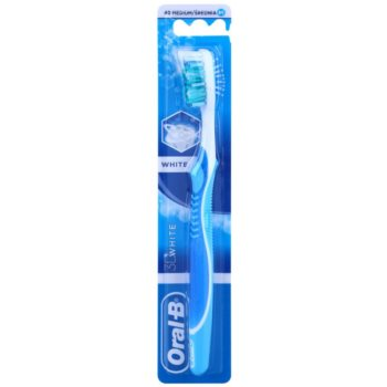 Oral B 3D White White spazzolino da denti medium Blue