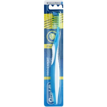 Oral B Pro-Expert CrossAction Antibacterial spazzolino da denti medium Blue