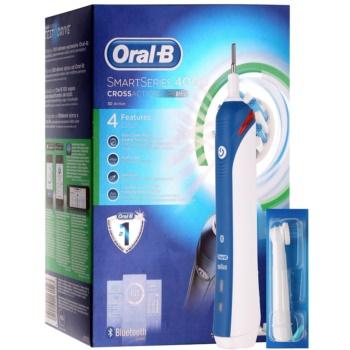Oral B SmartSeries 4000 D21.525.3M CrossAction spazzolino da denti elettrico (2 Replacement Brush Heads)