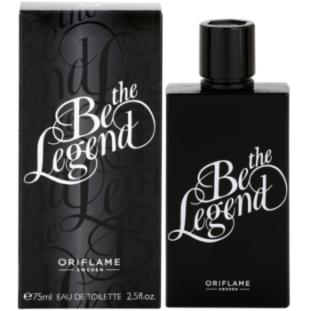 Oriflame Be the Legend eau de toilette per uomo 75 ml