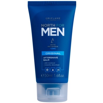 Oriflame North For Men balsamo after-shave allo zinco (Aftershave Balm with Zinc) 50 ml