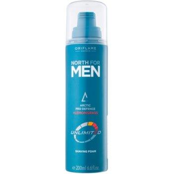 Oriflame North For Men schiuma da barba 200 ml