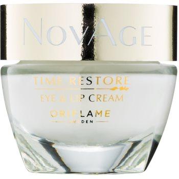 Oriflame Novage Time Restore crema contorno occhi e labbra 15 ml