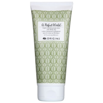 Origins A Perfect World™ latte ultra idratante corpo con the bianco (Highly Hydrating Body Lotion with White Tea) 200 ml