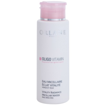 Orlane Oligo Vitamin Program acqua micellare detergente per viso e occhi (Micellar Water Face and Lips 250 ml