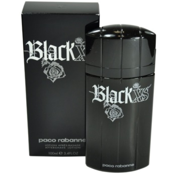 Paco Rabanne XS Black lozione post-rasatura per uomo 100 ml