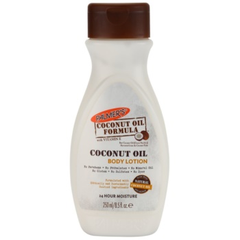 Palmer's Hand & Body Coconut Oil Formula latte idratante corpo con vitamina E (Natural Coconut Oil) 250 ml