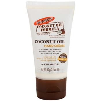 Palmer's Hand & Body Coconut Oil Formula crema idratante per le mani (24 Hour Moisture) 60 g