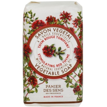 Panier des Sens Red Thyme sapone energizzante alle erbe (Natural Essential Oil) 150 g