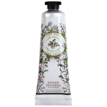 Panier des Sens Verbena crema energizzante per le mani (Natural Essential Oil) 30 ml
