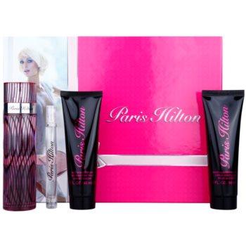 Paris Hilton Paris Hilton kit regalo VI eau de parfum 100 m + eau de parfum 10 ml + gel doccia 90 ml + latte corpo 90 ml