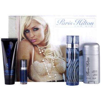 Paris Hilton Paris Hilton for Men kit regalo I eau de toilette 100 ml + deo-stick 78 g + gel doccia 90 ml + eau de toilette 7,5 ml